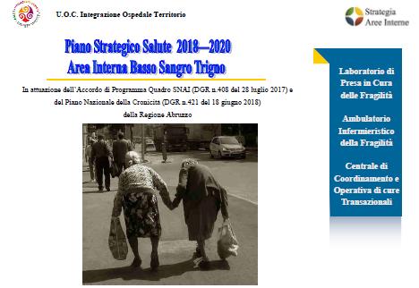 Piano Strategico Salute 2018-2020 Area Interna Basso Sangro Trigno