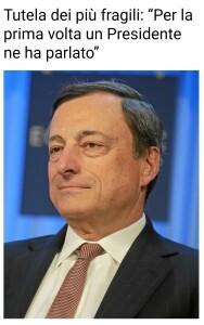 Discorso di Mario Draghi al Senato della Repubblica